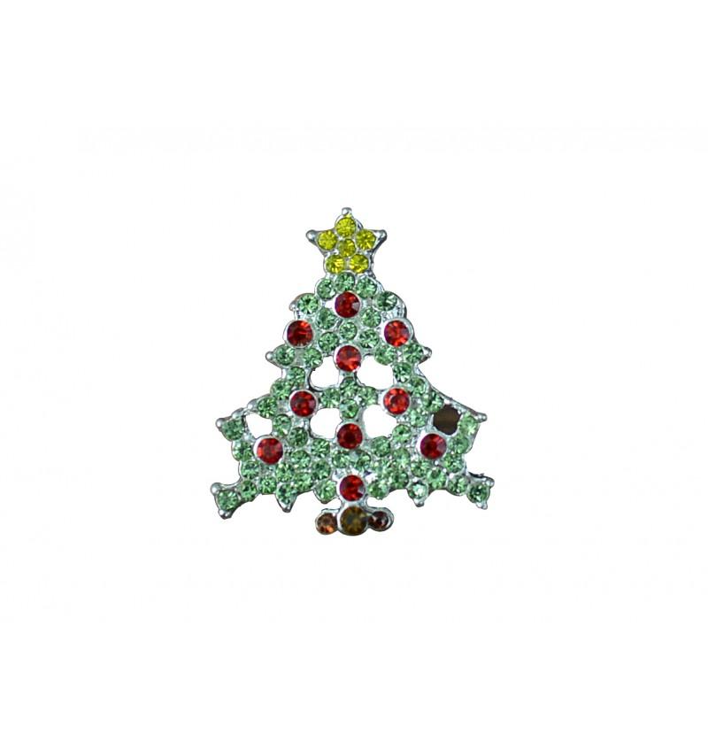"""0.75"""" Christmas Tree Flatback"""