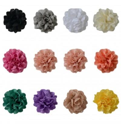 "3"" Eyelet Flower Grab Bag - 10 pieces"