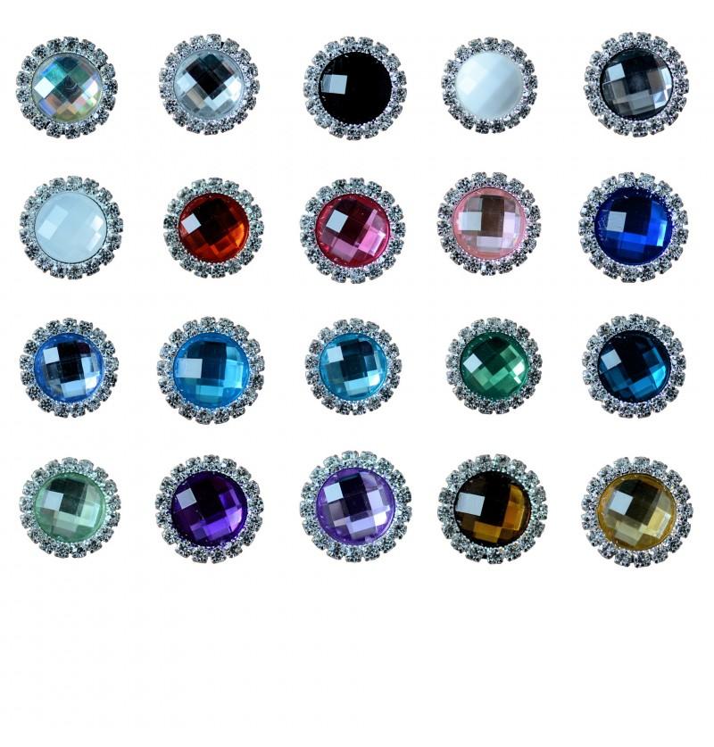 """0.75"""" Rhinestone Jewel"""