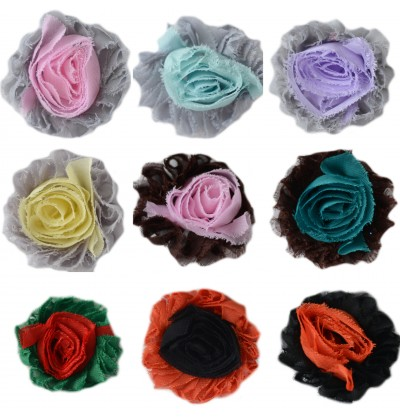 """2.5"""" Inside/Out Shabby Flowers"""