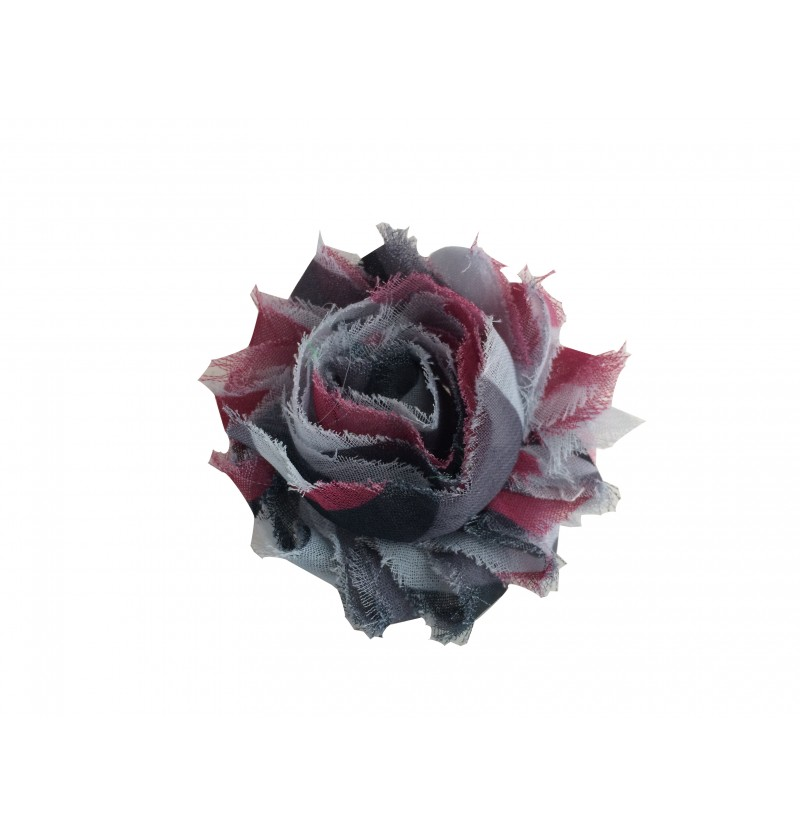 "Pink Camo 2.5"" Shabby Flowers"