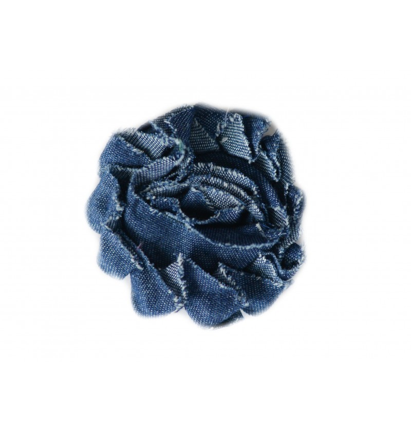 "Denim 2.5"" Shabby Flowers"