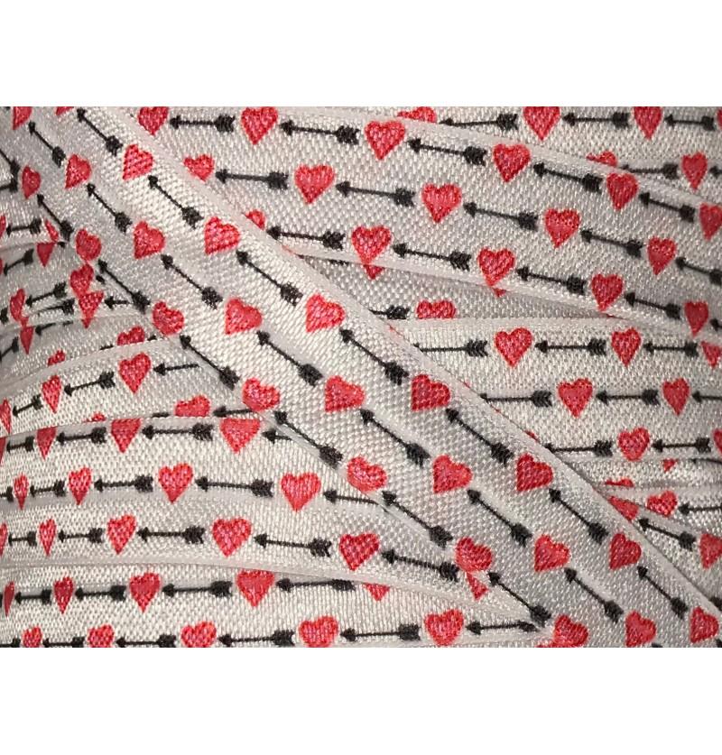 """Hearts and Arrows 5/8"""" Fold..."""