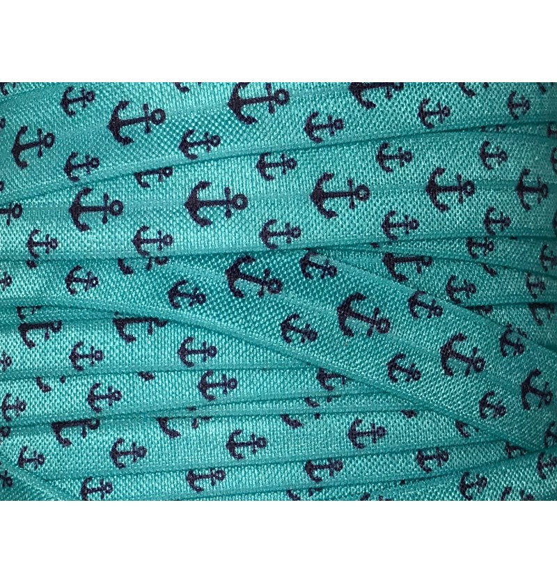 """Turquoise w/ Anchors 5/8""""..."""