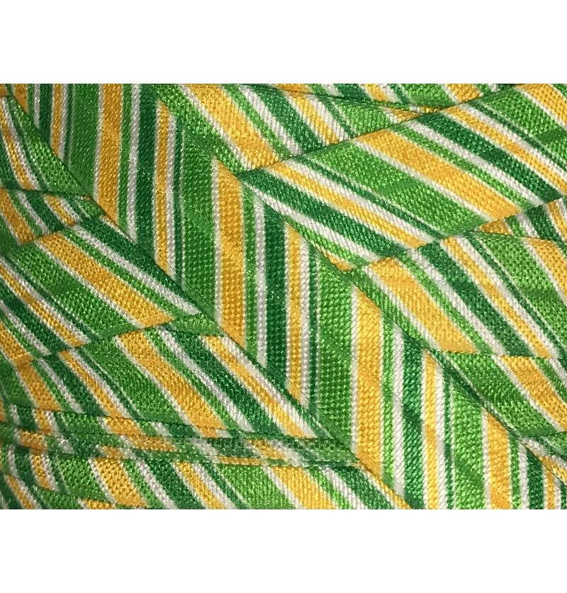 "Irish Stripes 5/8"" Fold..."