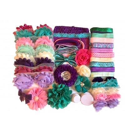 Mermaid Baby Shower Headband Kit