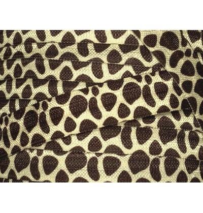 """Giraffe 5/8"""" Fold Over Elastic"""