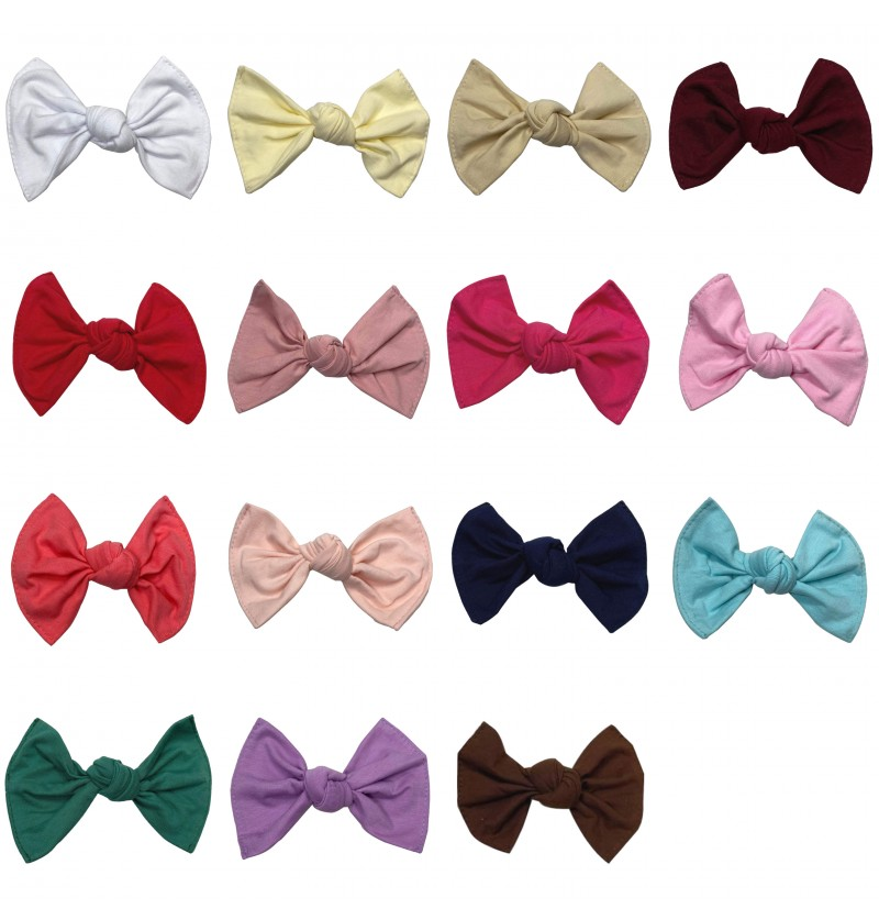 """4.5"""" Jersey Cotton Bow"""