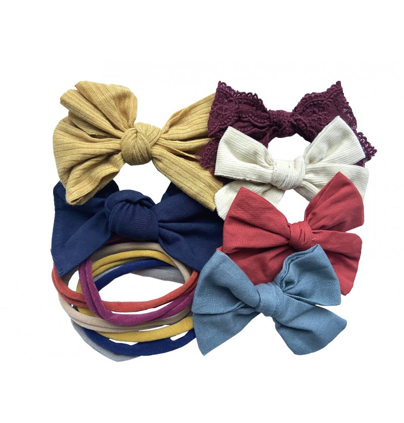 Fall Mini Bow Kit