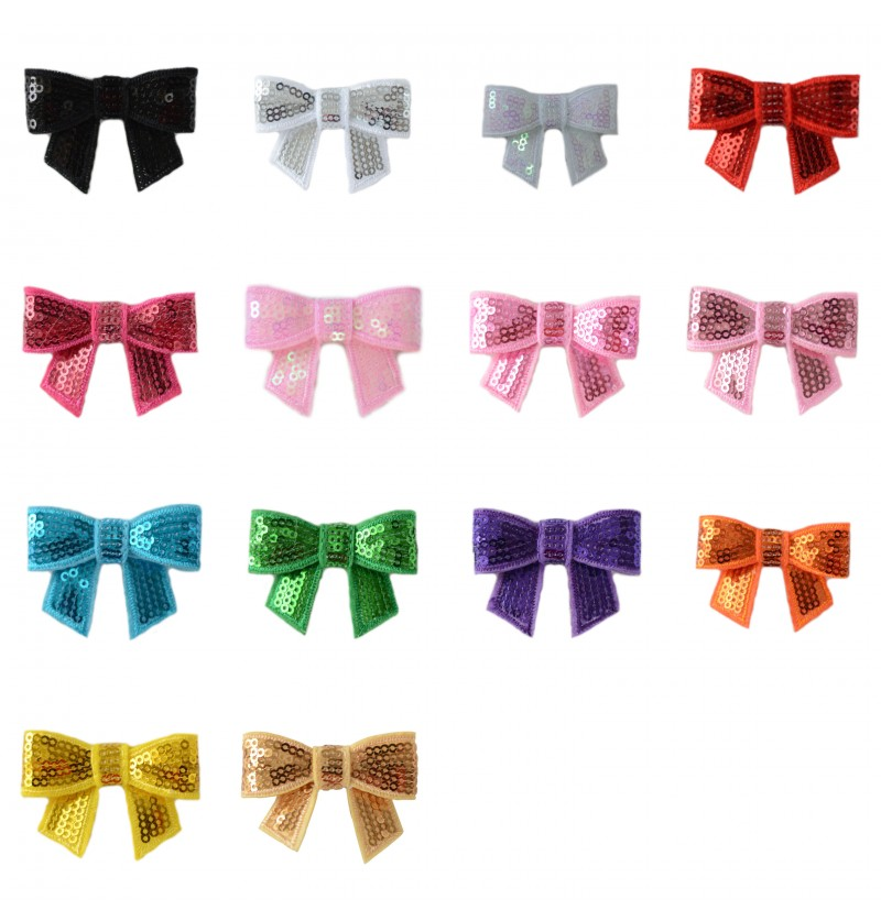 """2"""" Sequin Bow"""