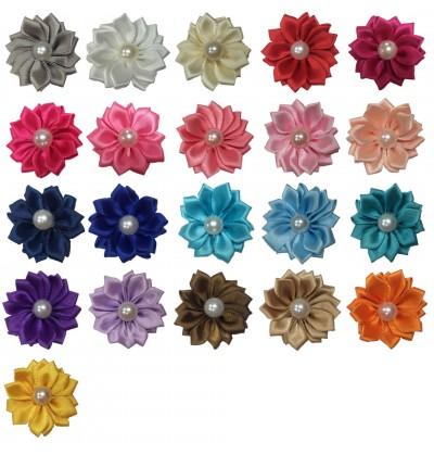 "1.5"" Pearl Petal Flowers Grab Bag - 10 pieces"