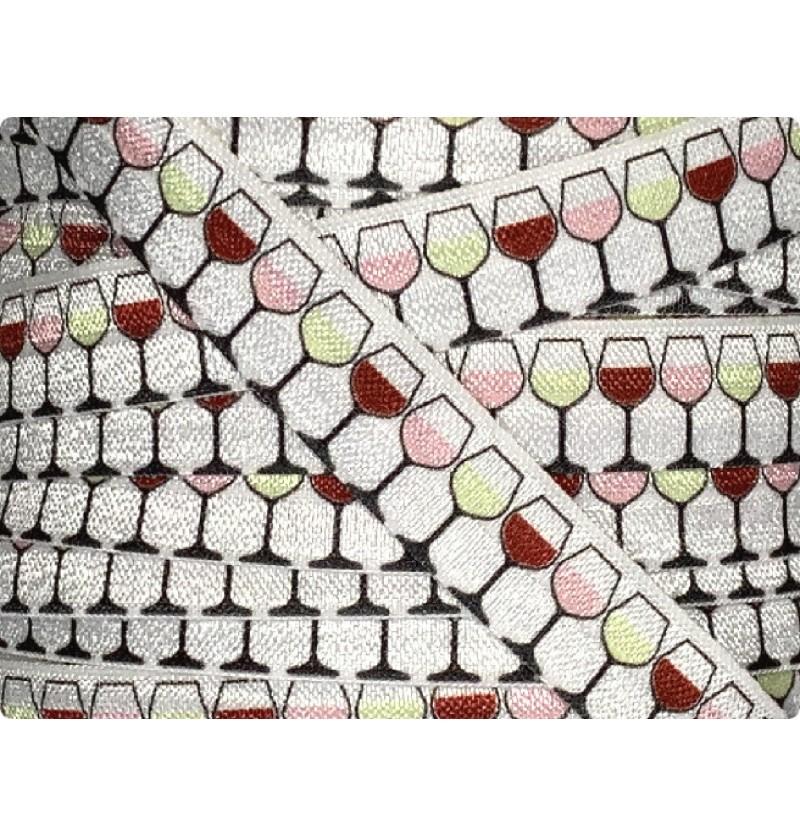 """Wine Glass 5/8"""" Fold Over..."""