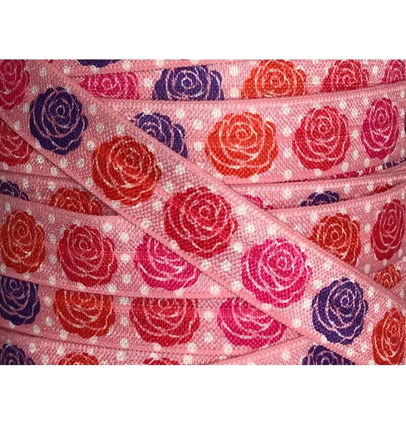 Pink Polka Dots w/ Roses...