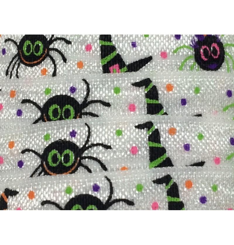 "Halloween Spiders 5/8"" Fold..."