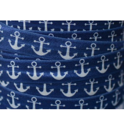 "Anchors 5/8"" Fold Over Elastic"
