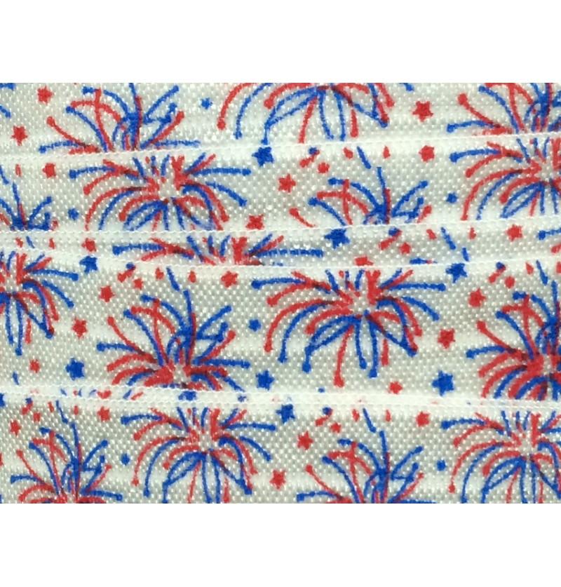 """Fireworks 5/8"""" Fold Over..."""