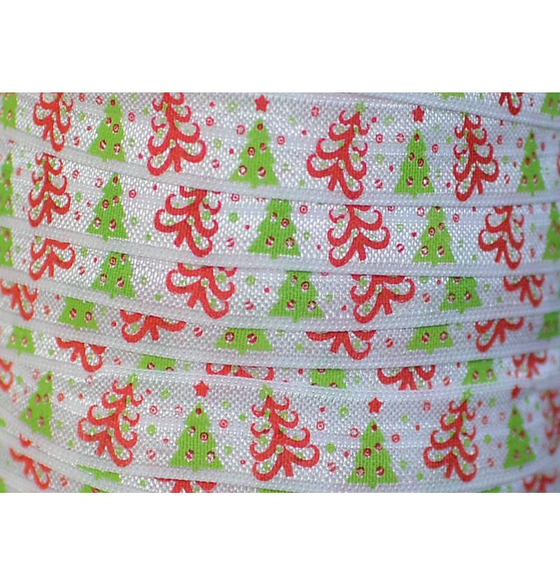 White w/ Christmas Trees...