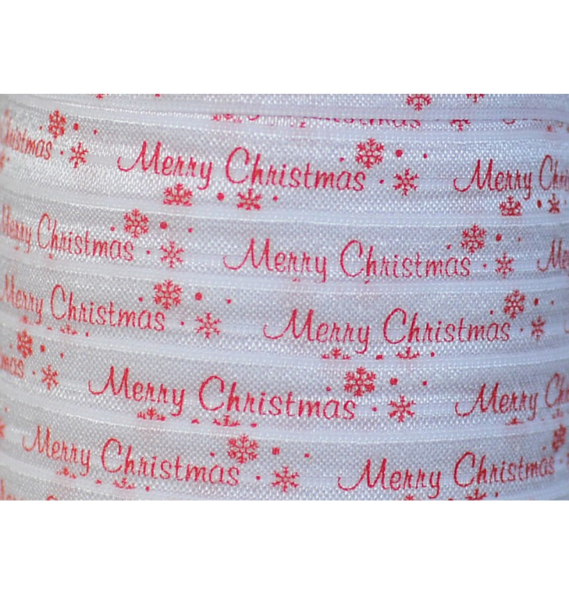 White w/ Merry Christmas...