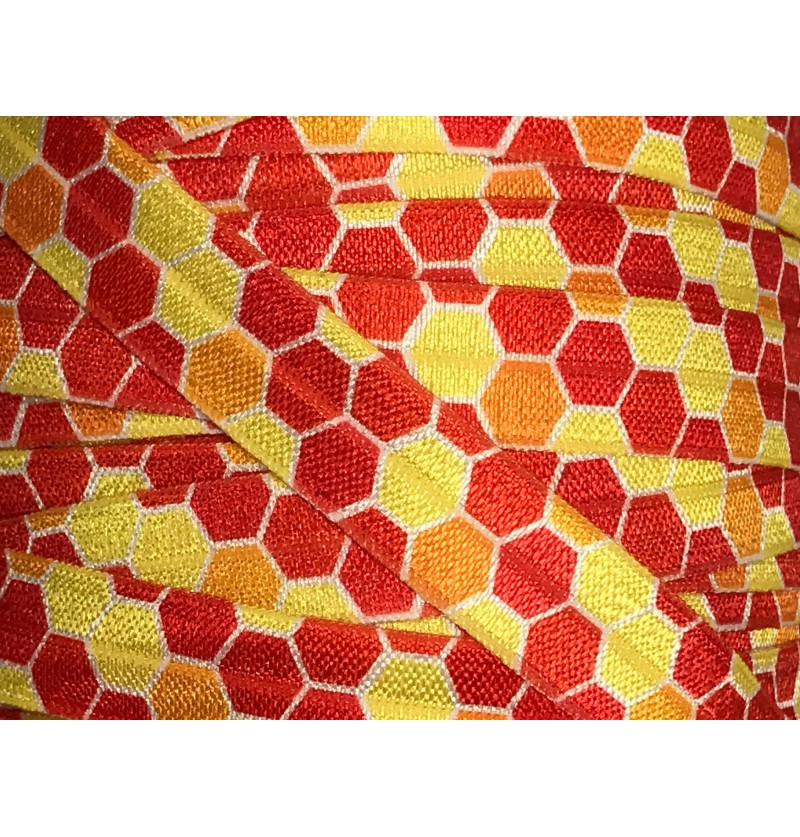 Hexagons Yellow/Orange/Red...