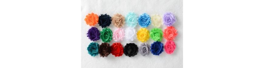 Shabby Chiffon Flowers - Prints and Patterns